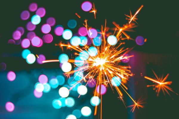 Pretty sparkler