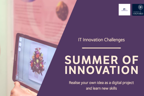 IT Innovation Challenges: Summer of Innovation - realise your own idea as a digital project and learn new skills